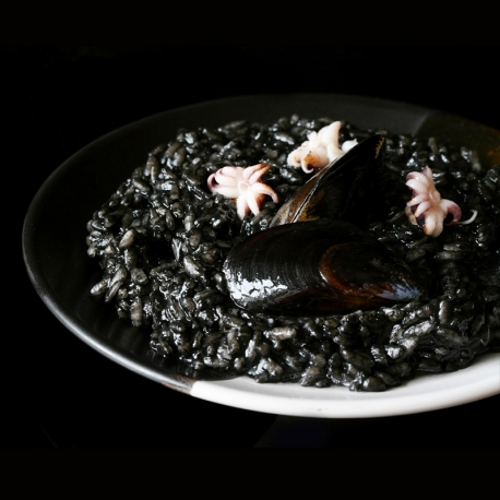 Natural squid ink