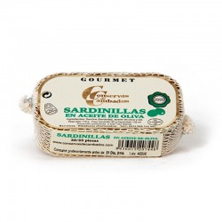 Petite sardine à l'huile d'olive