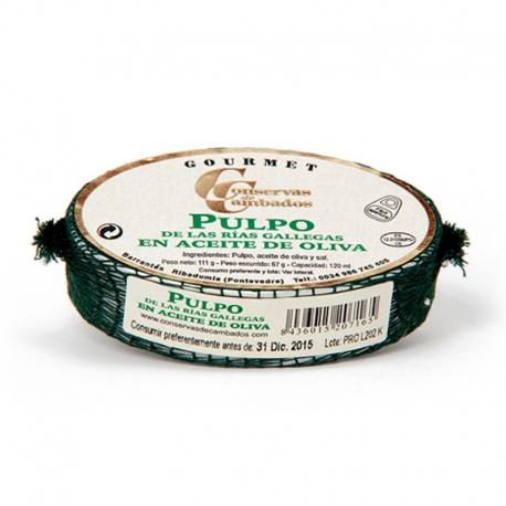 Poulpe de Galice à l'huile d'olive
