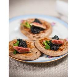 crêpe caviar