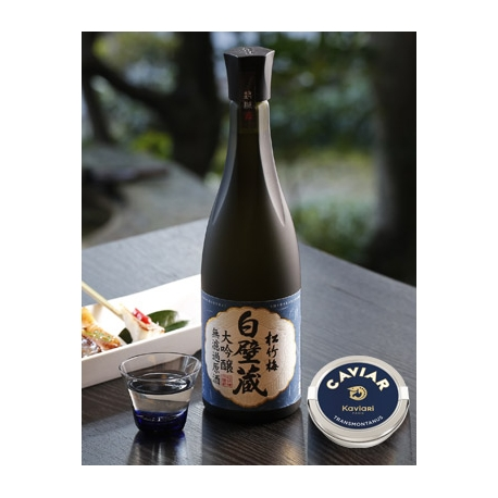 caviar et saké