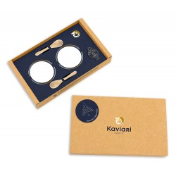 Coffret caviar vide 2x30 ou 2x50g