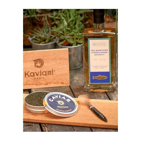 Caviar et sipritueux