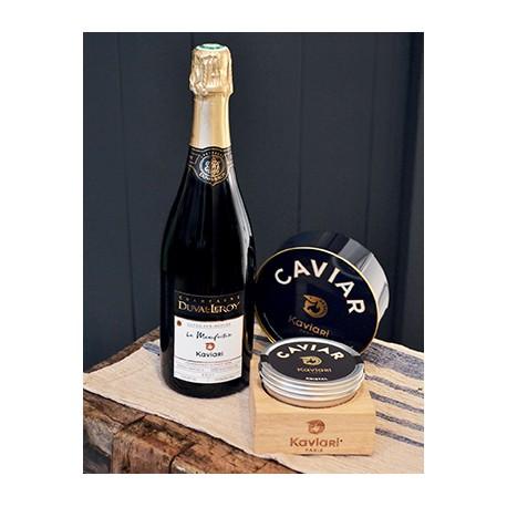 Caviar et champagne