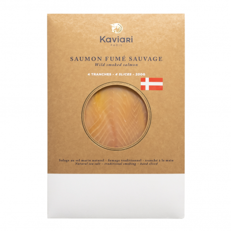 Wild danish smoked salmon