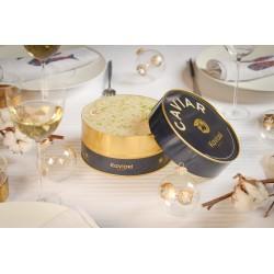 La Bûche K by Bernachon chocolat/caviar