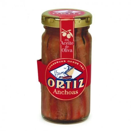 Anchois à l'huile d'olive